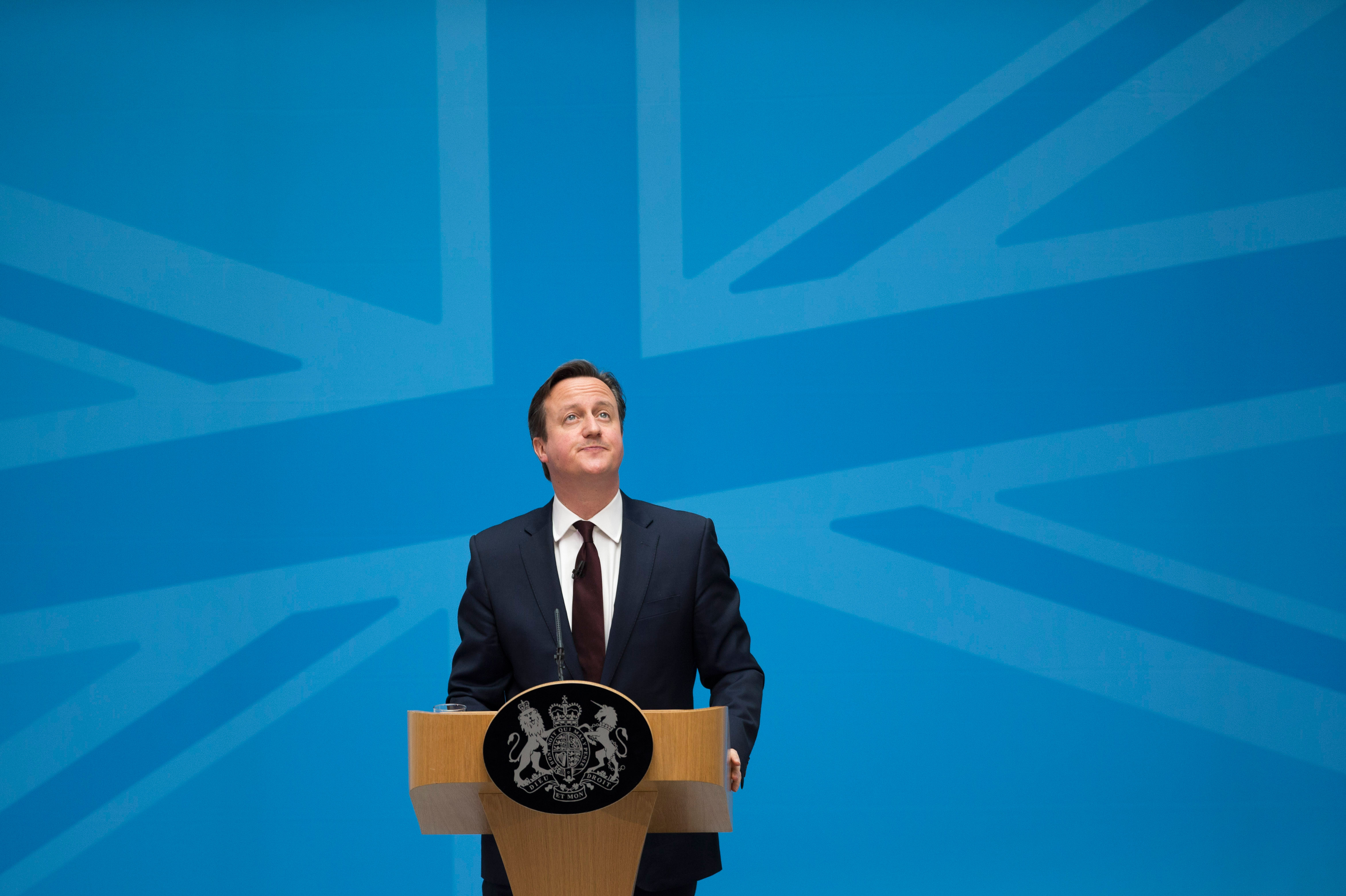 The Prime Minister And Home Secretary Address Immigration