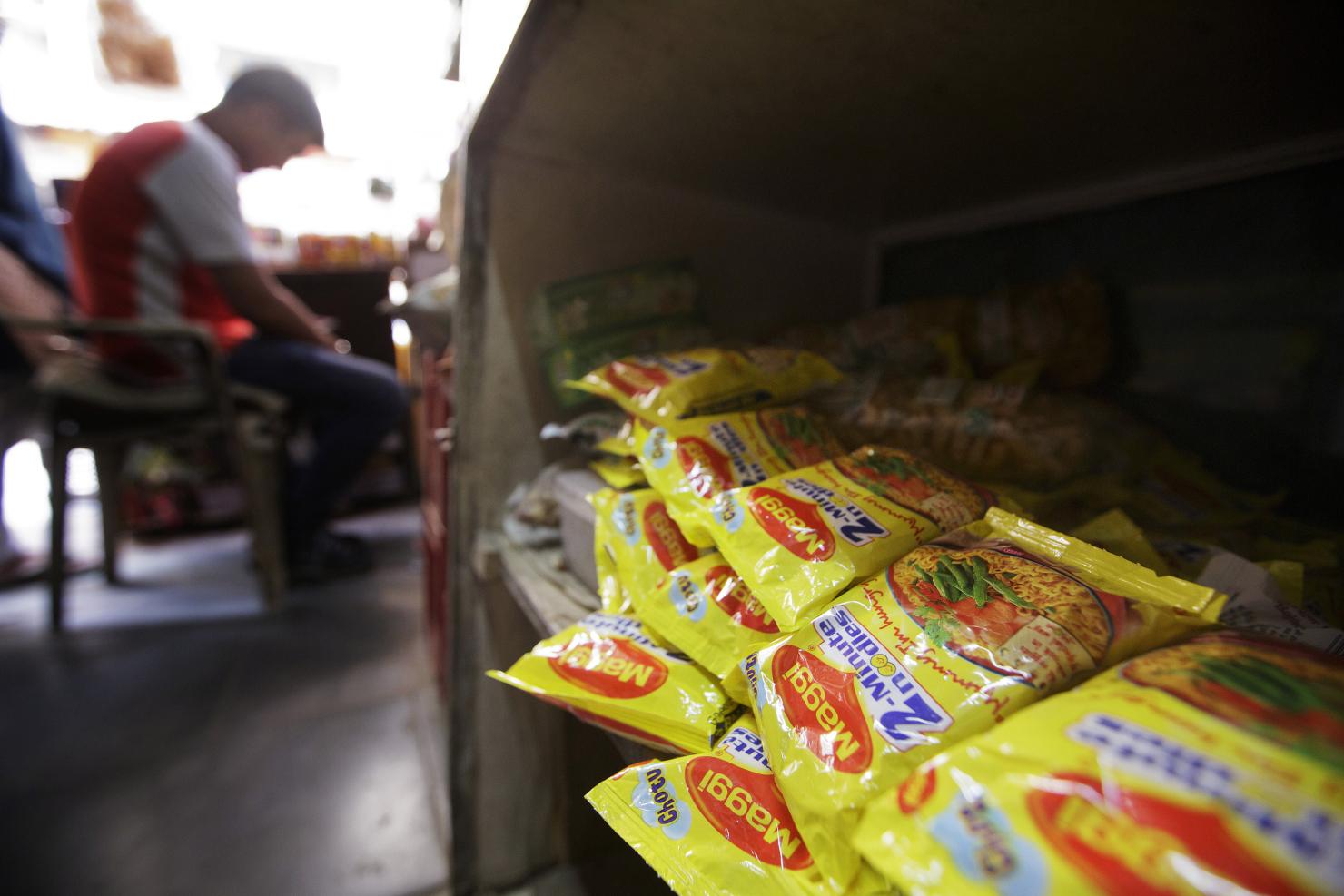 Maggi Noodles At Stores As Nestle SA's Crisis Deepens