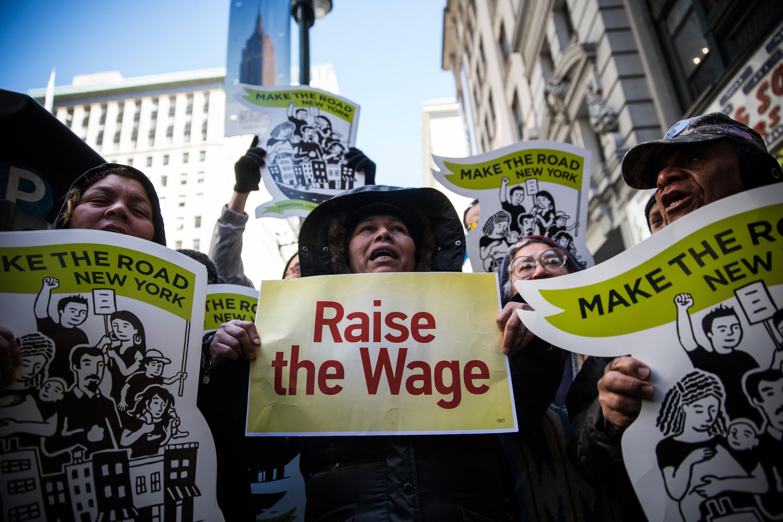 McDonald's Workers, Activists Protest McDonald's Labor Practices