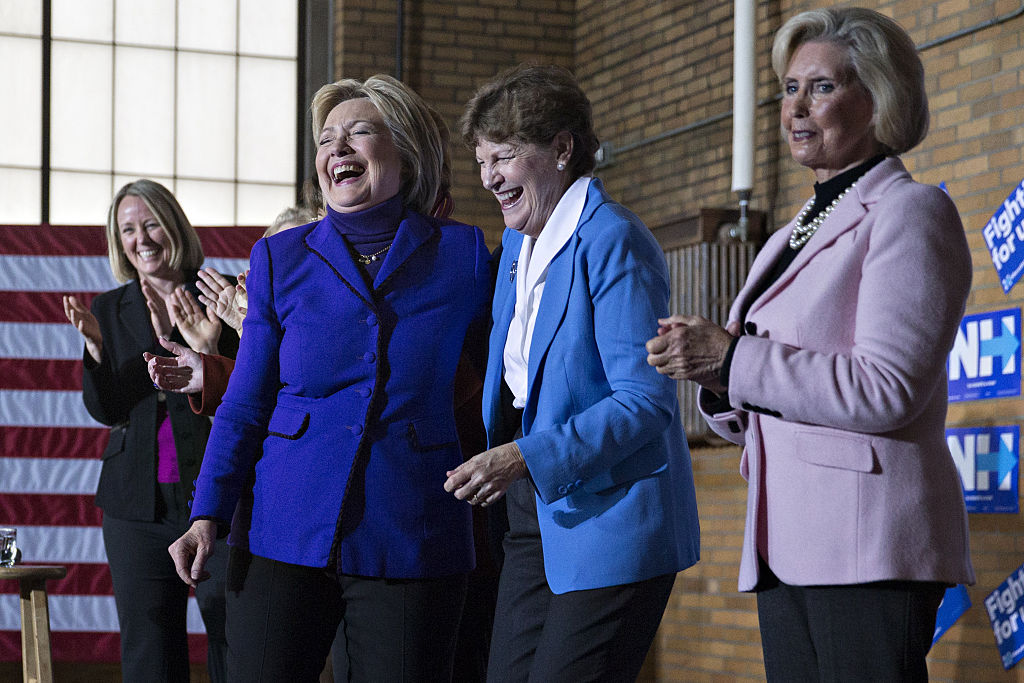 Presidential Candidate Hillary Clinton Holds Manchester Canvass Kick-Off Event