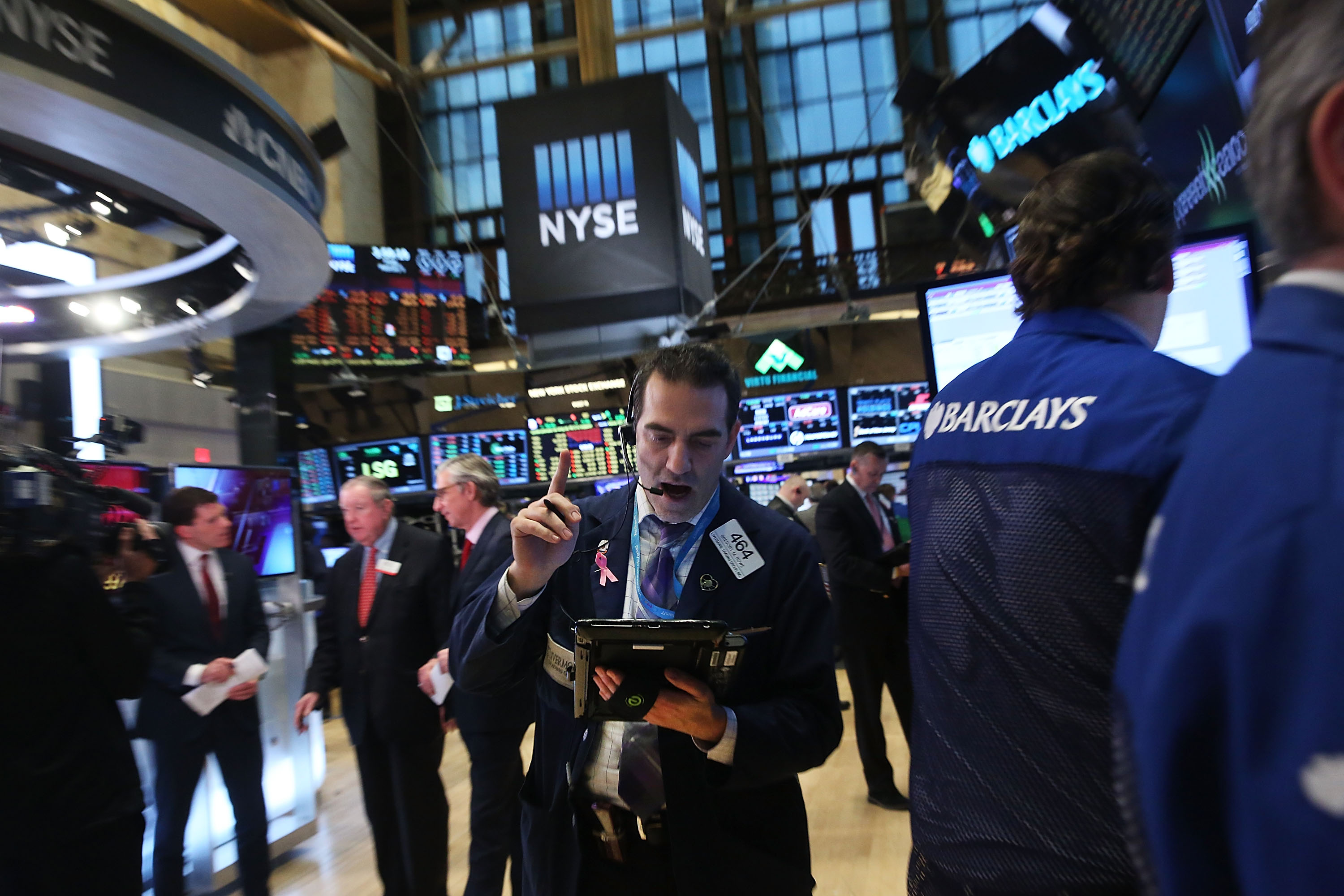 Stocks Drop As Report Shows Fewer Jobs Created Than Expected
