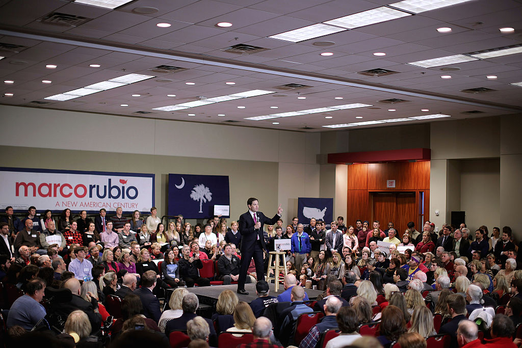 GOP Presidential Candidate Sen. Marco Rubio (R-FL) Campaigns In South Carolina
