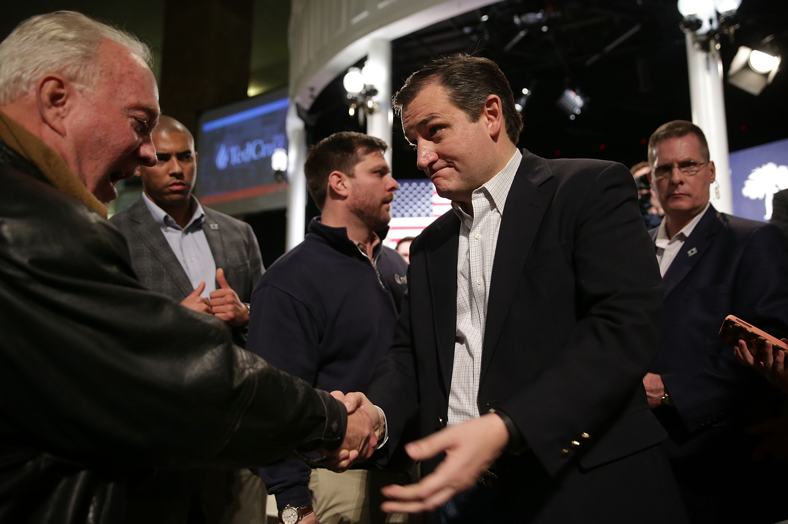 GOP Presidential Candidate Sen. Ted Cruz (R-TX) Campaigns In South Carolina