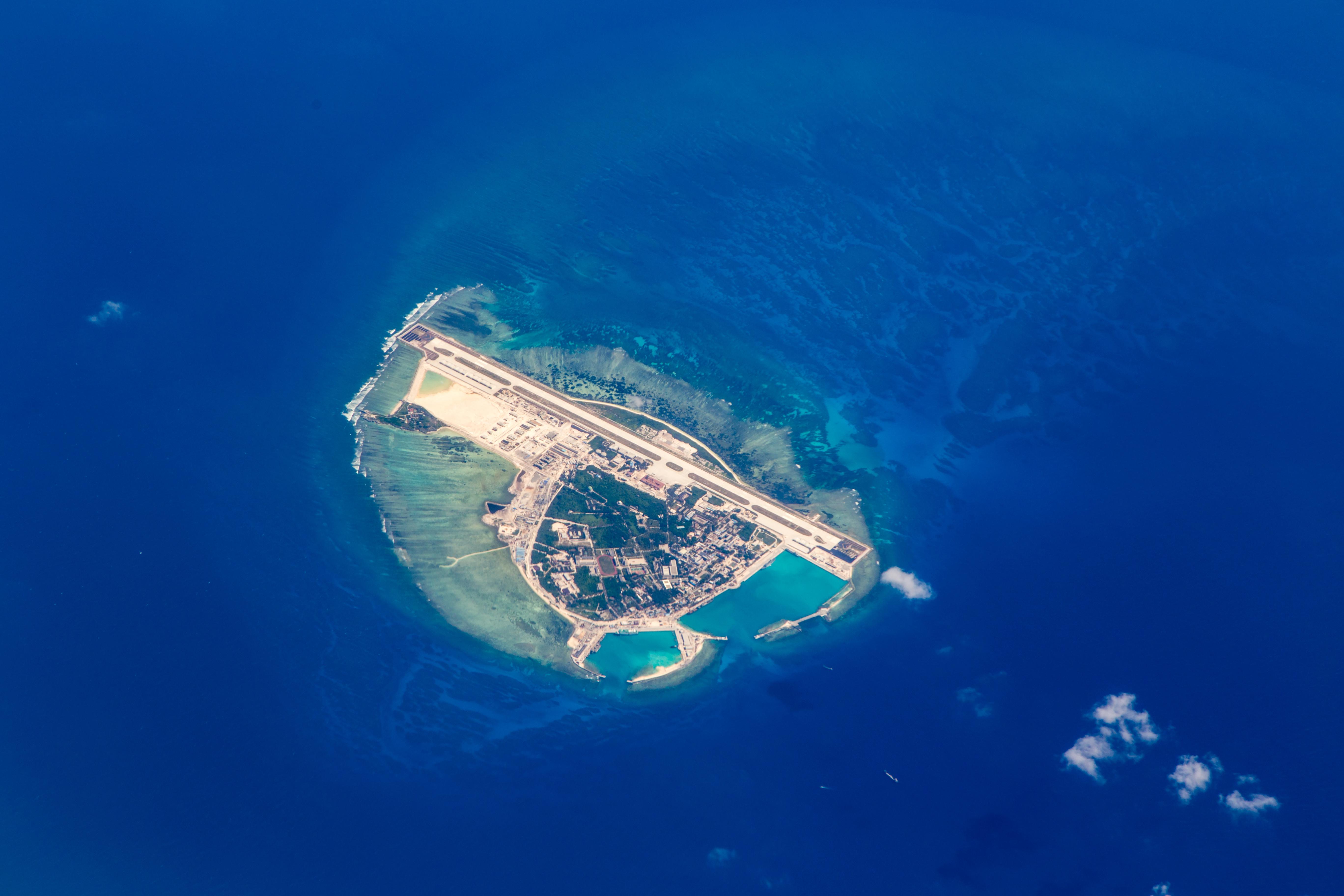 Yongxing Island In South China Sea