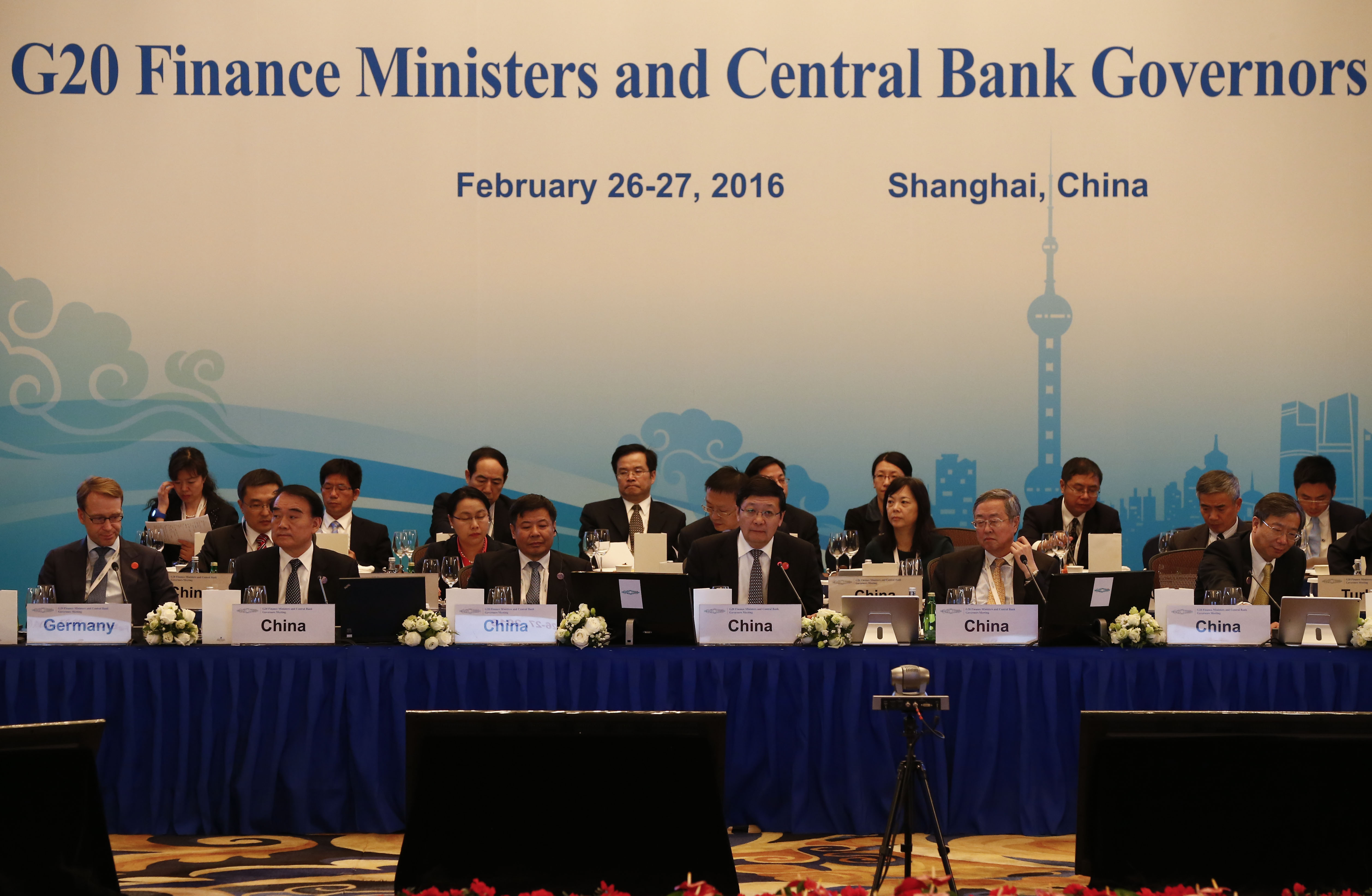 G20 Finance Ministers and Central Bank Governors Meet In Shanghai