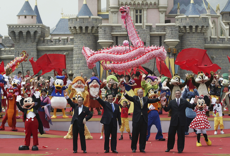 Grand Opening Of Disneyland In Hong Kong