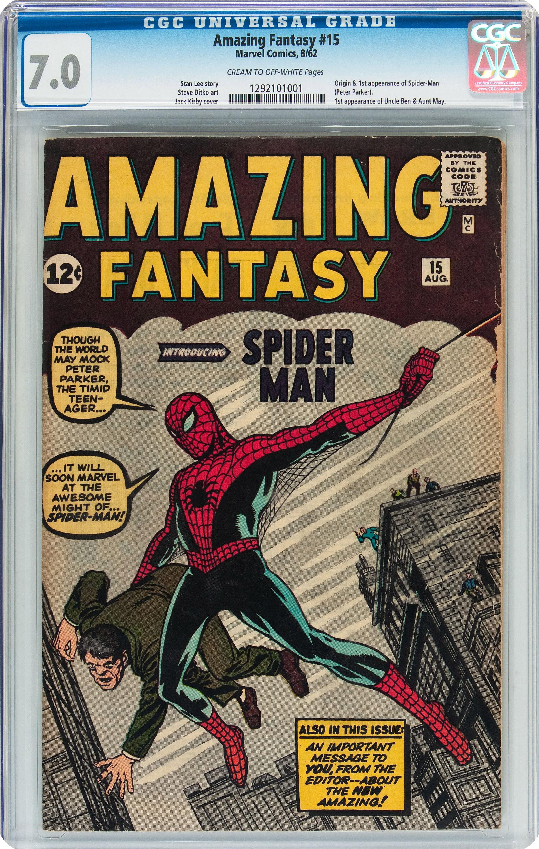 CORRECTION Spider Man Collector