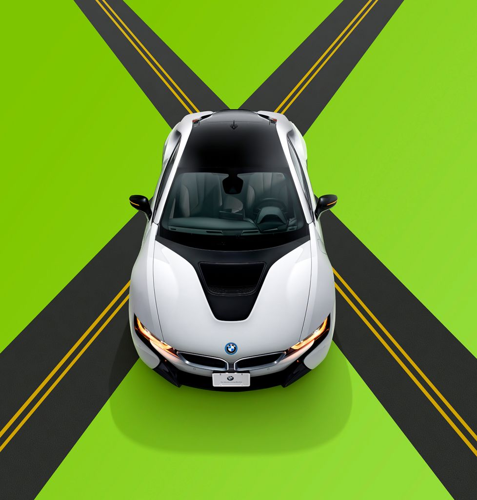 BMW's I8 plug-in hybrid can go from 0 to 60 in 4.2 seconds.
