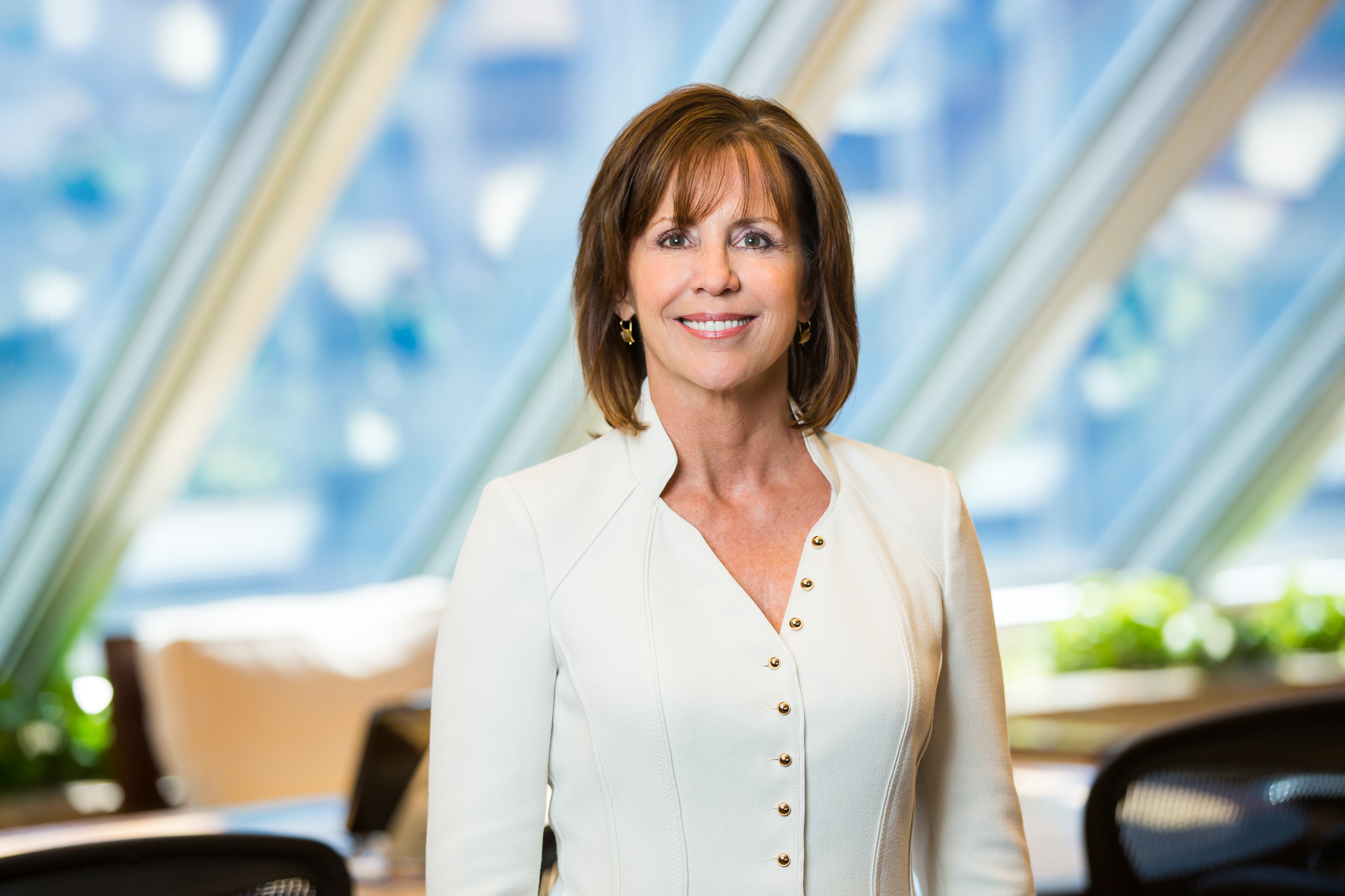 Jean Case, CEO of the Case Foundation and newly named chairman of the National Geographic Society.
