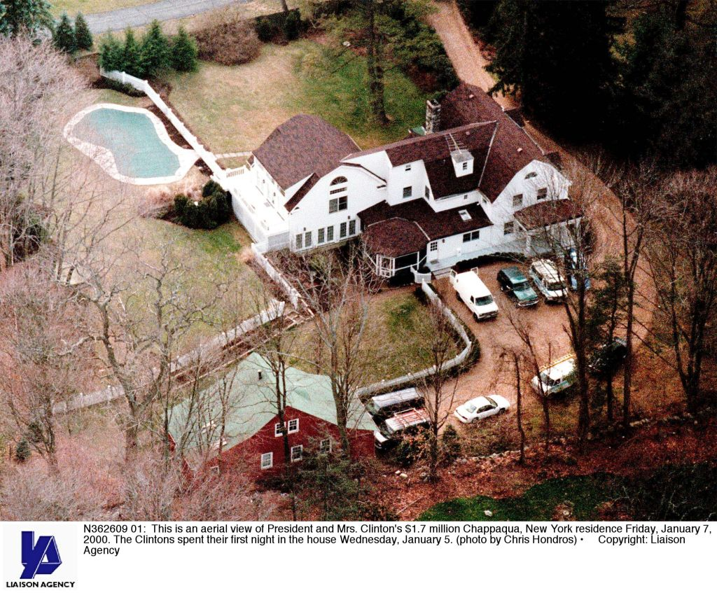 President and Mrs. Clinton's $1.7 million Chappaqua, New York residence