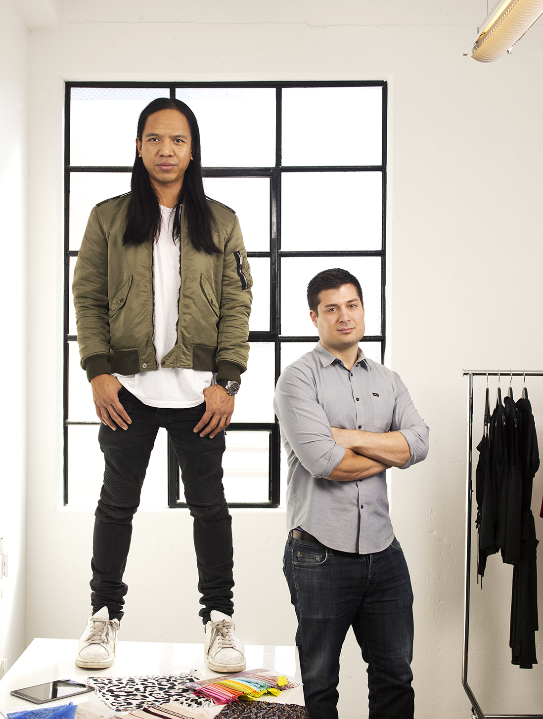 Michael Mente and Mike Karanikolas, Co-Ceos of  Revolve