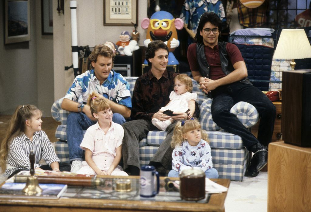 CANDACE CAMERON;DAVE COULIER;ANDREA BARBER;BOB SAGET;MARY-KATE/ASHLEY OLSEN;JODIE SWEETIN;JOHN STAMOS