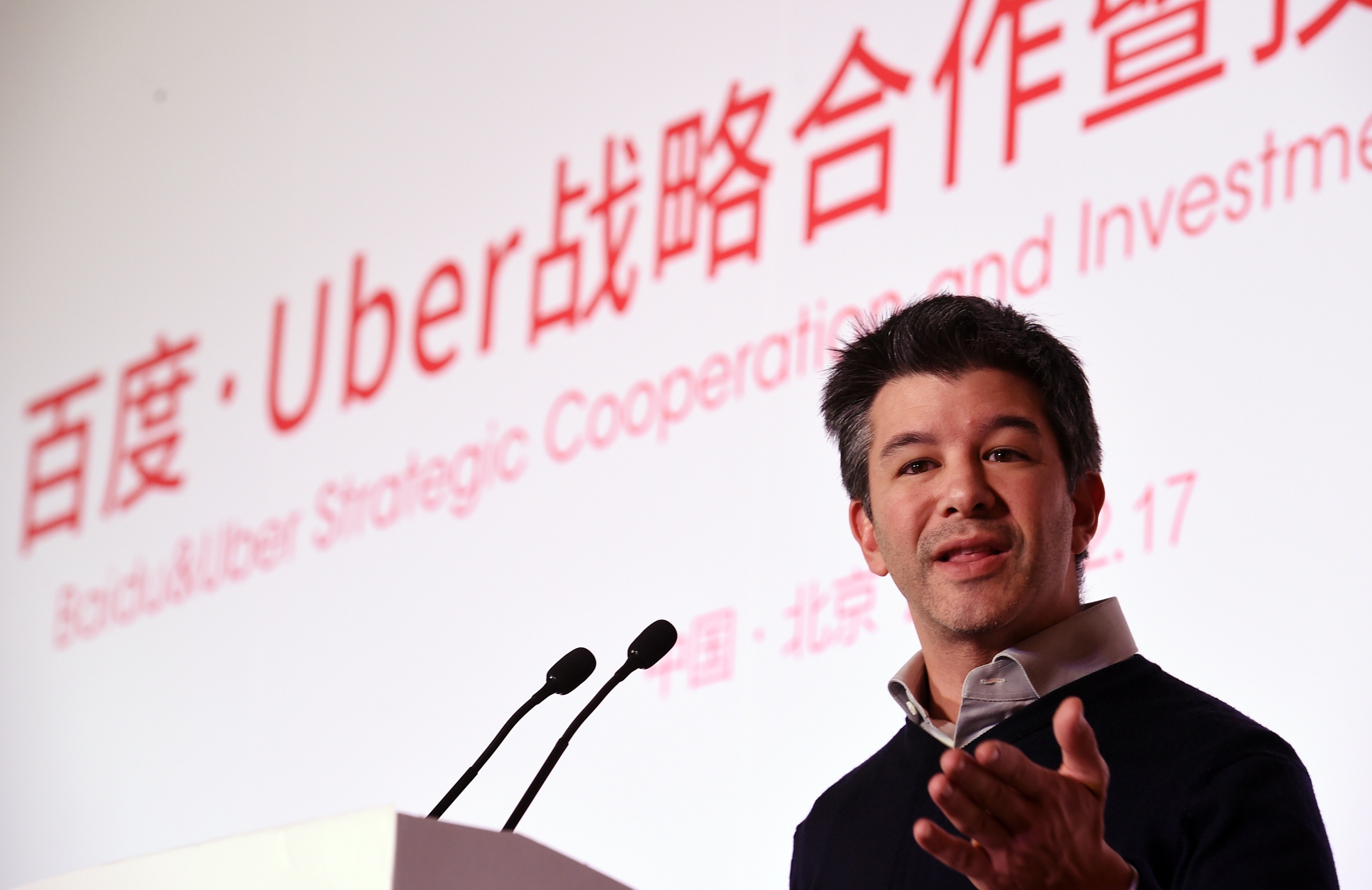 CHINA-BAIDU-UBER-INTERNET-TRANSPORT