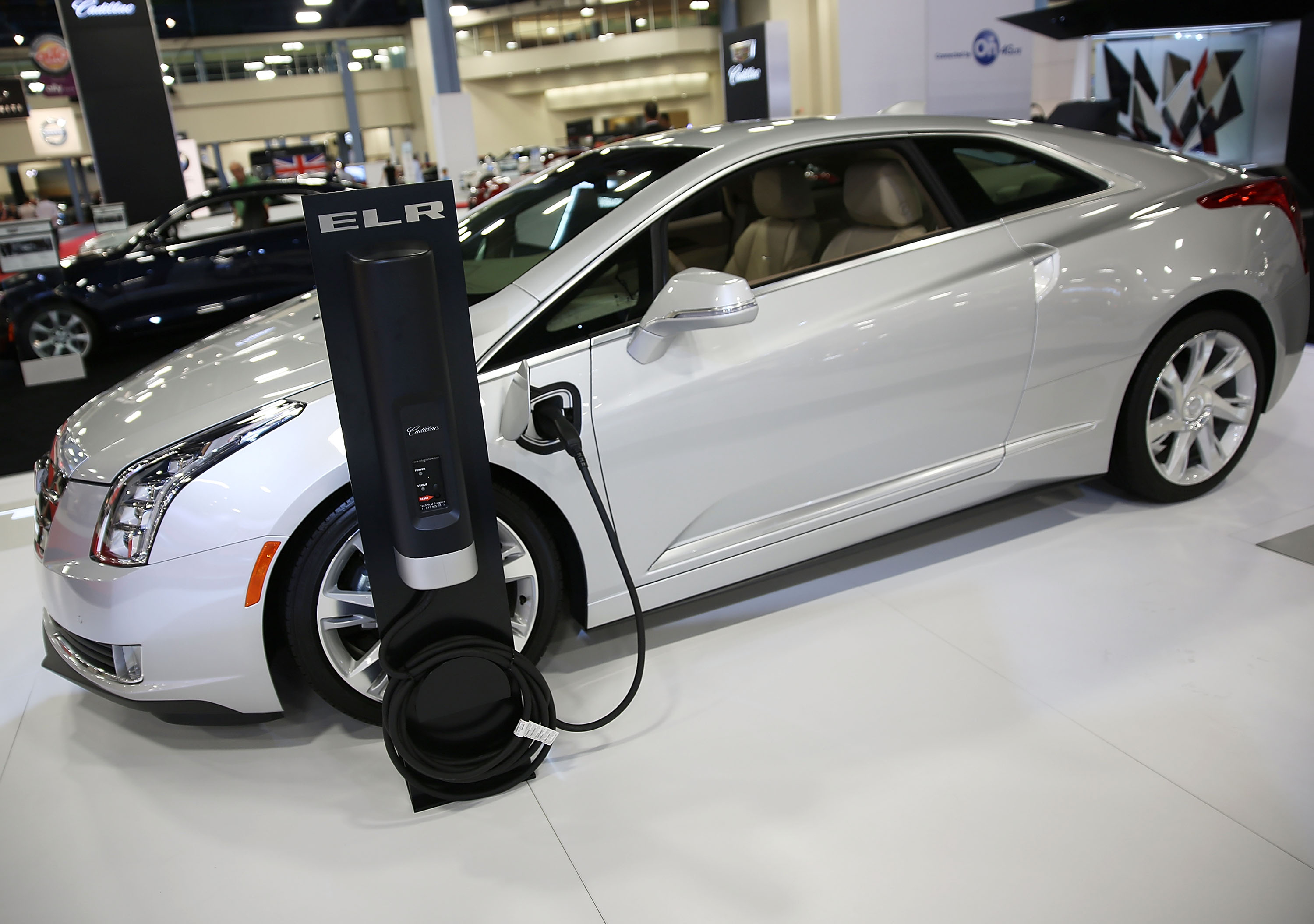 The 2016 Cadillac ELR at the Miami Beach International Auto Show, November 2015