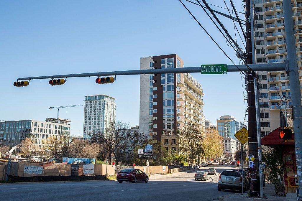 "Austin Street Sign Changed To ""David Bowie Street"""