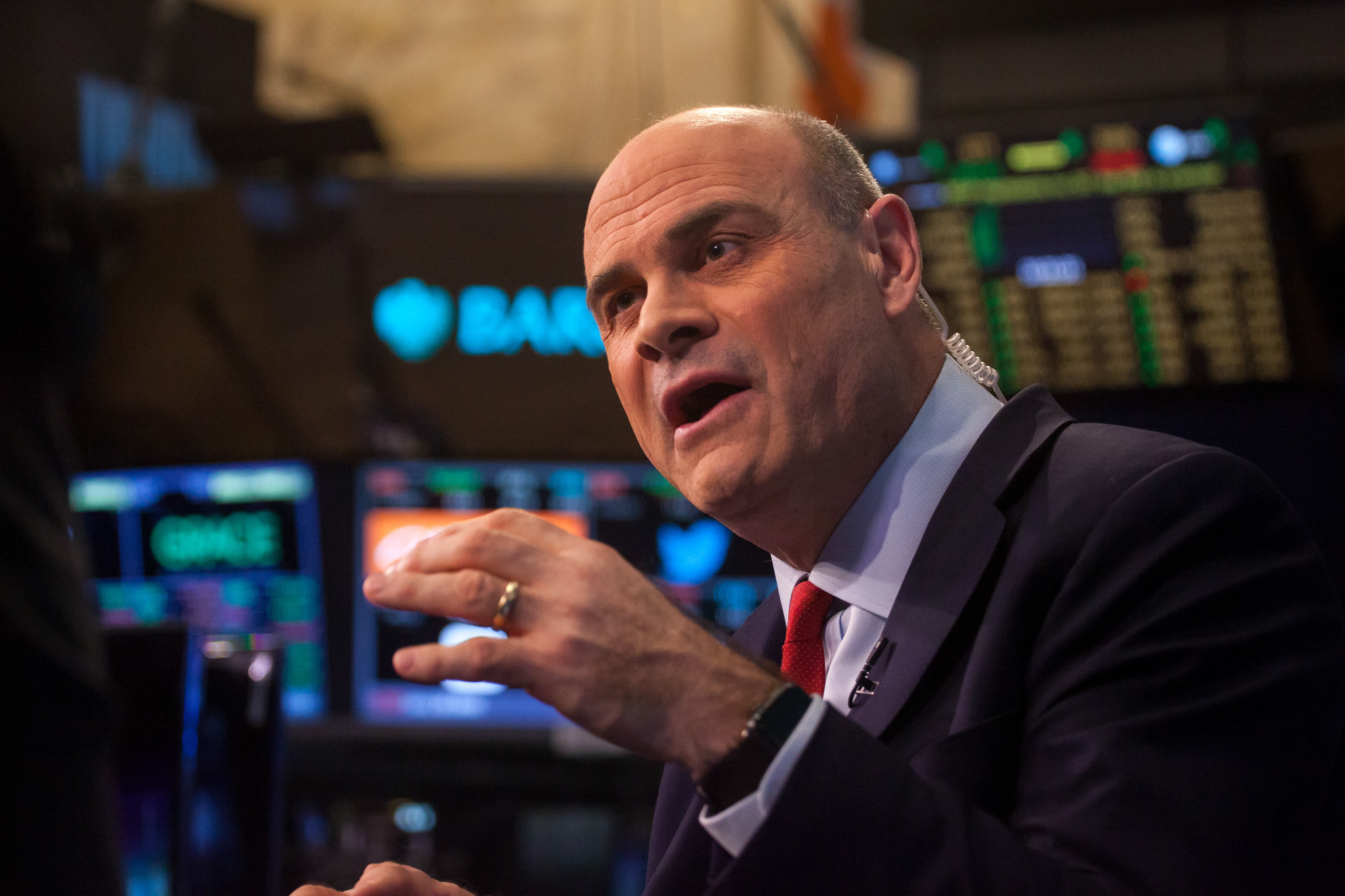 AIG Chief Executive Officer Peter Hancock Interview At The NYSE