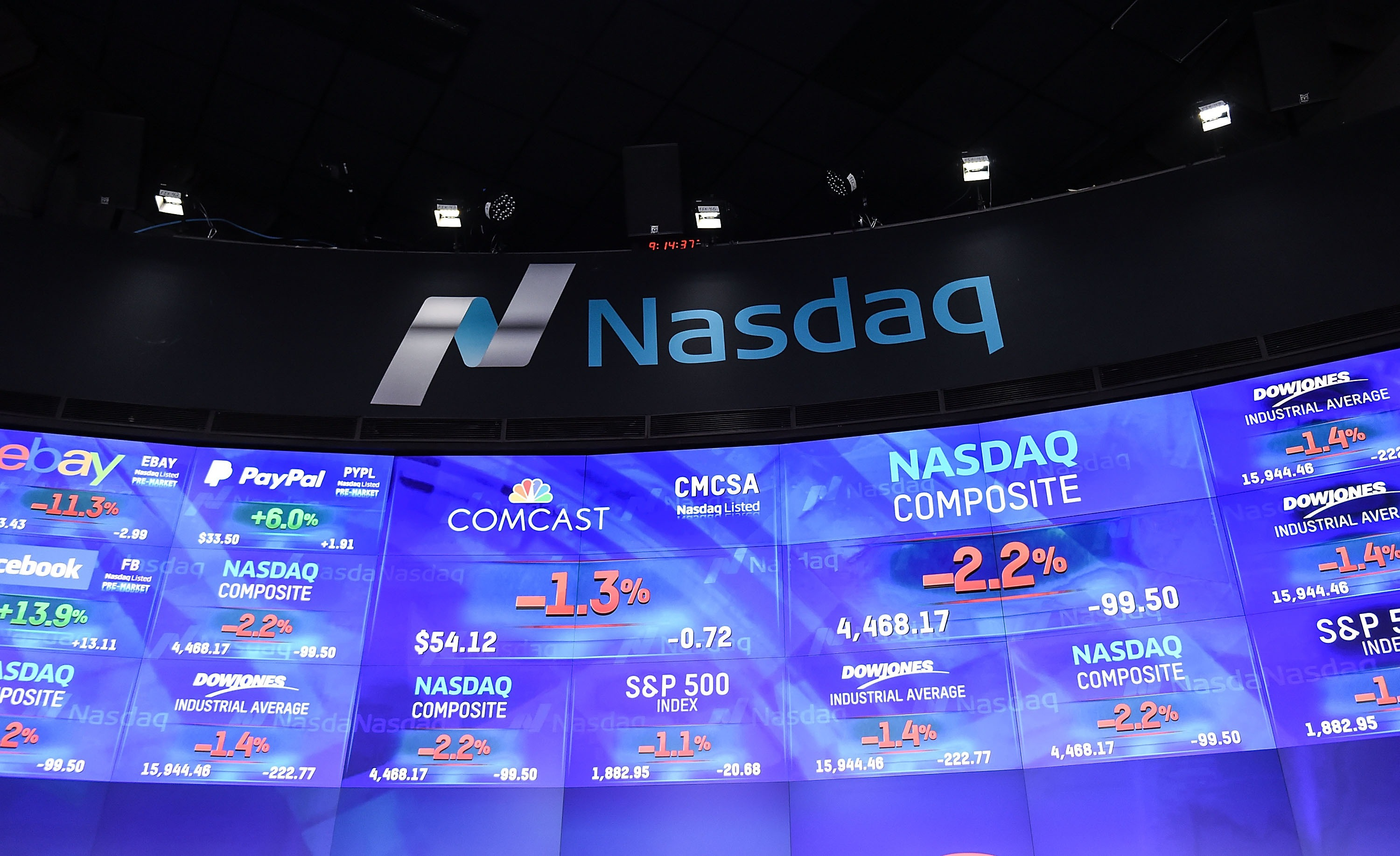 Comcast Corporation And USA Network Ring The Nasdaq Opening Bell