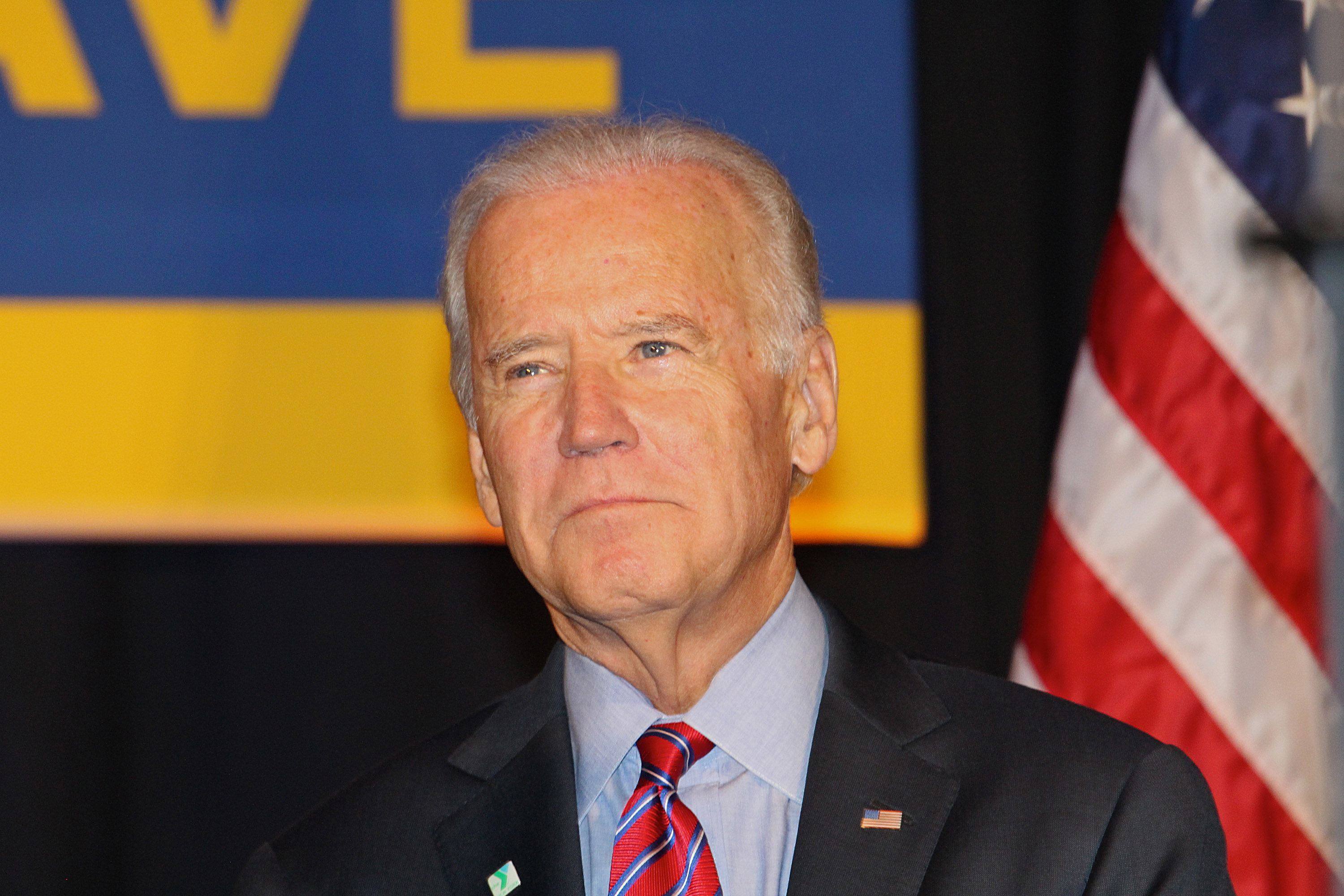Vice President Biden And NY Governor Andrew Cuomo Deliver Remarks On Economy