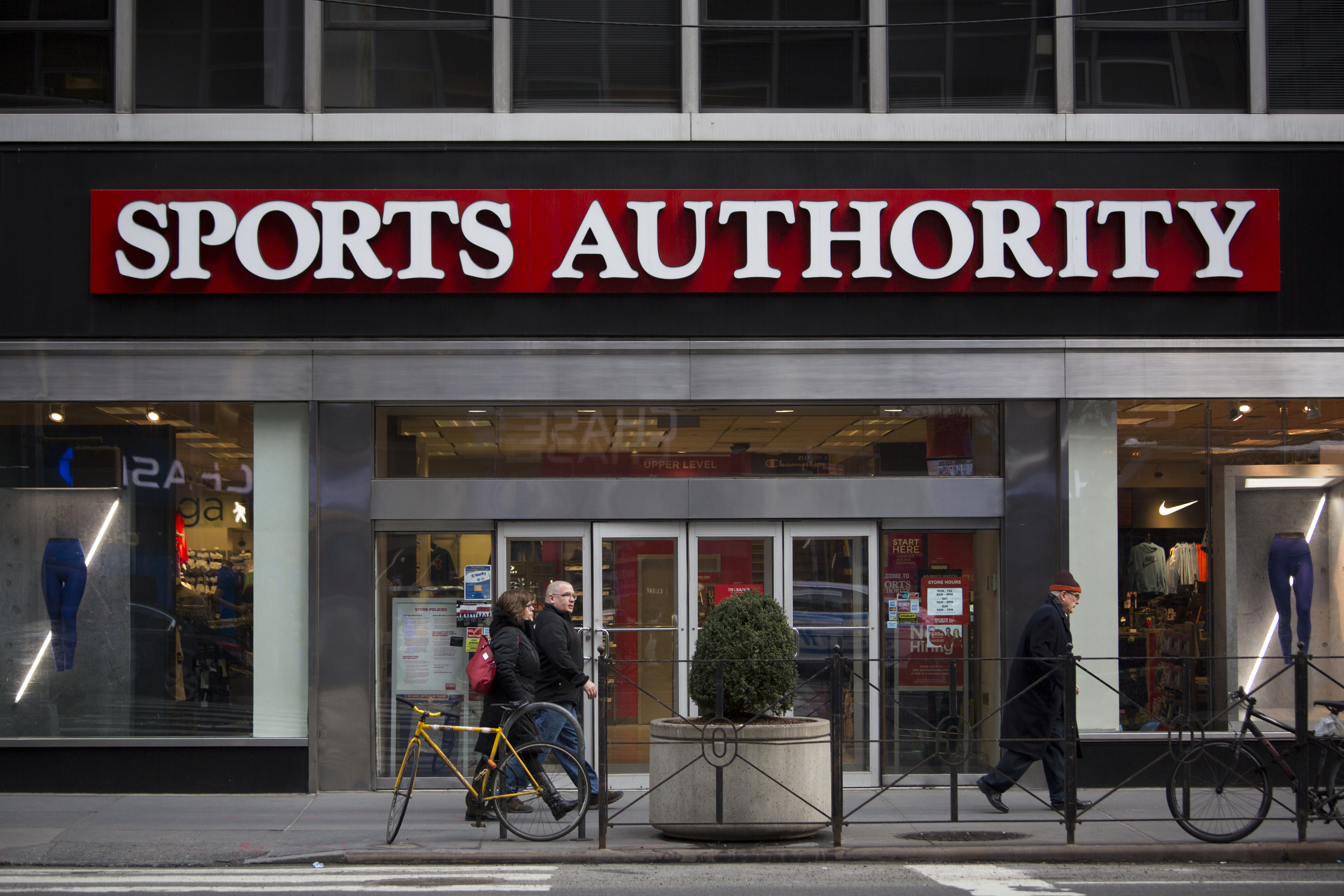 A Sports Authority store