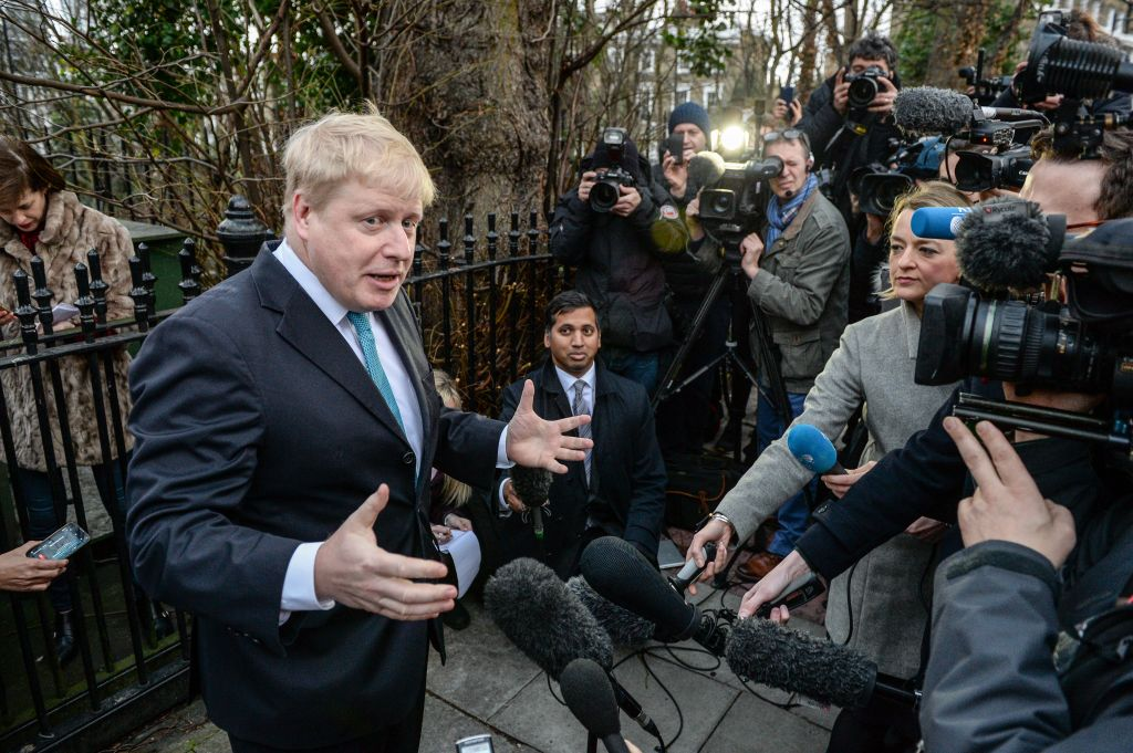 London Mayor Boris Johnson Announces Support For Brexit
