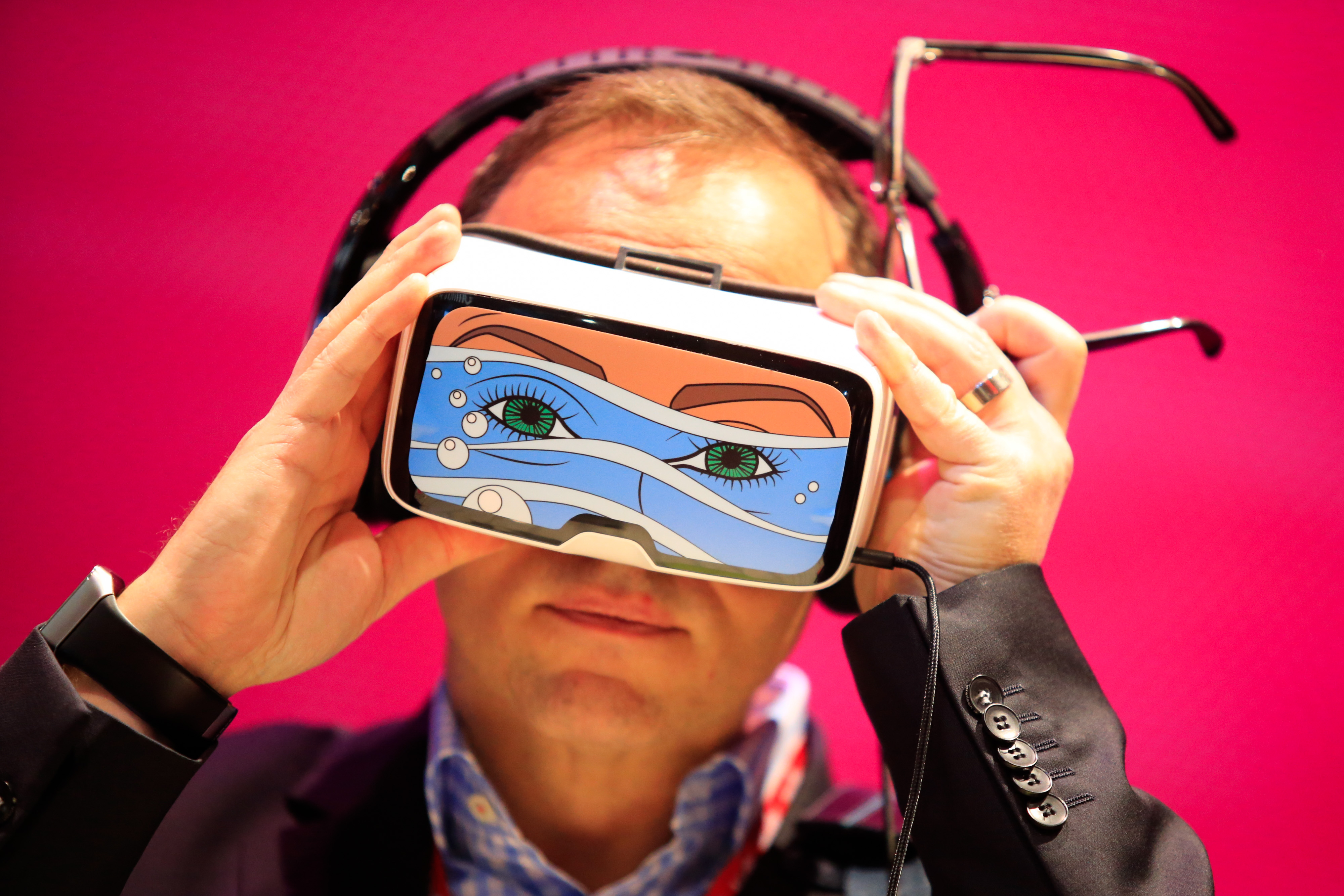 Opening Day Of The Mobile World Congress