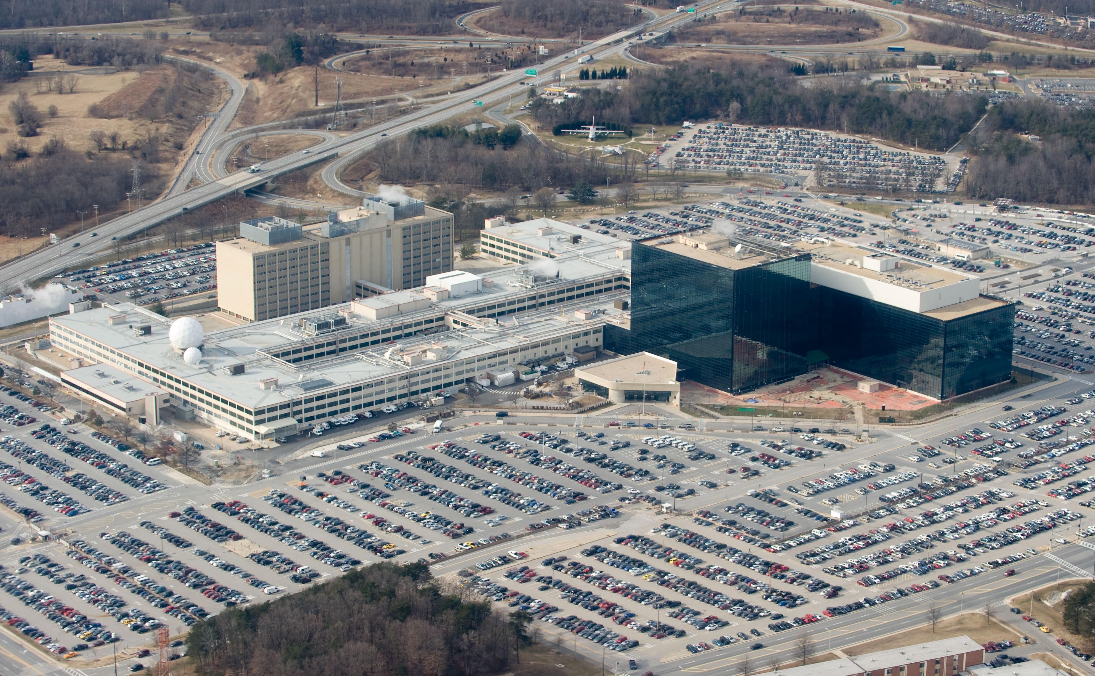 The National Security Agency (NSA) headq