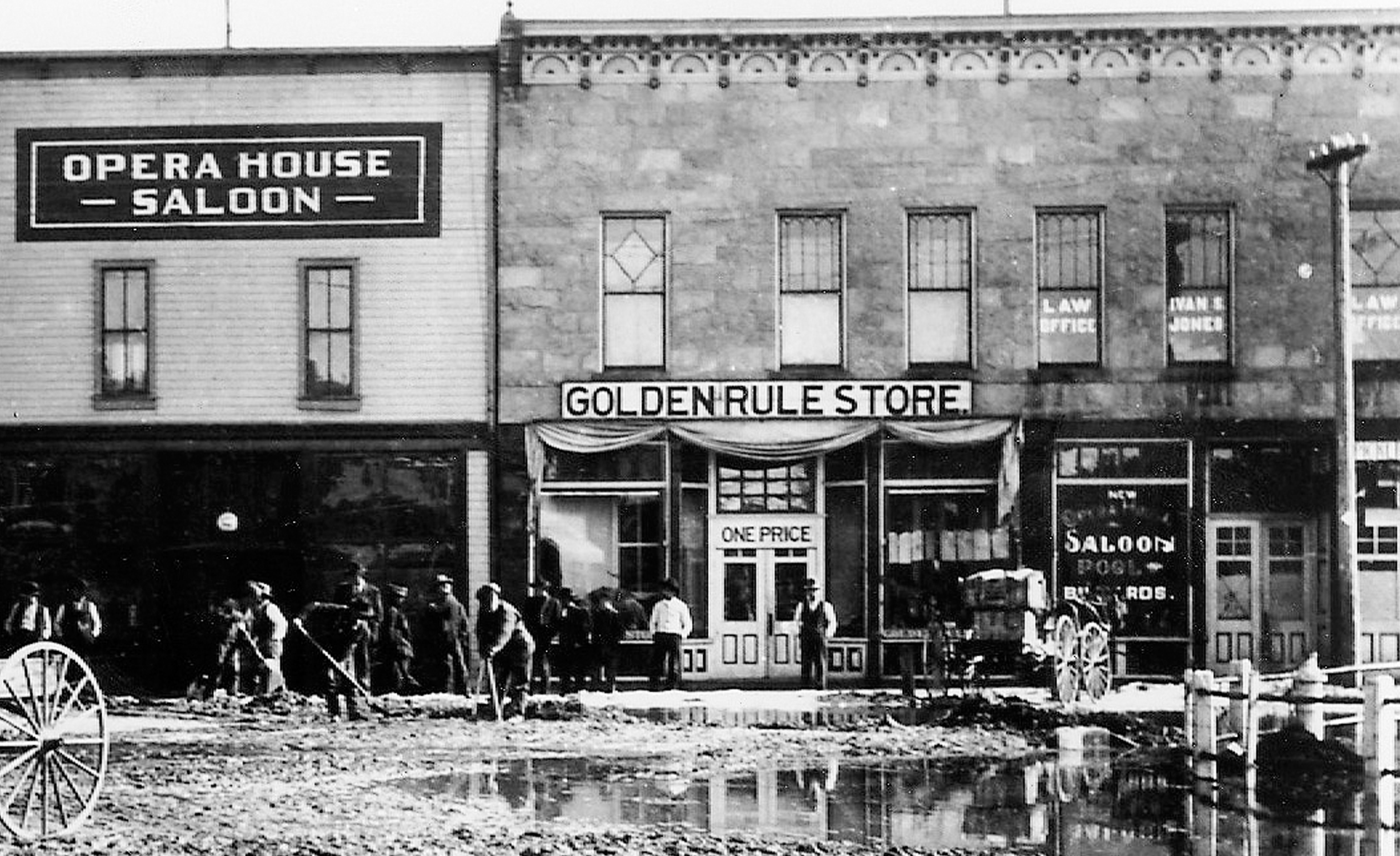 A Golden Rule Store in Kemmerer, Wyoming, started by James Cash Penney in 1902.