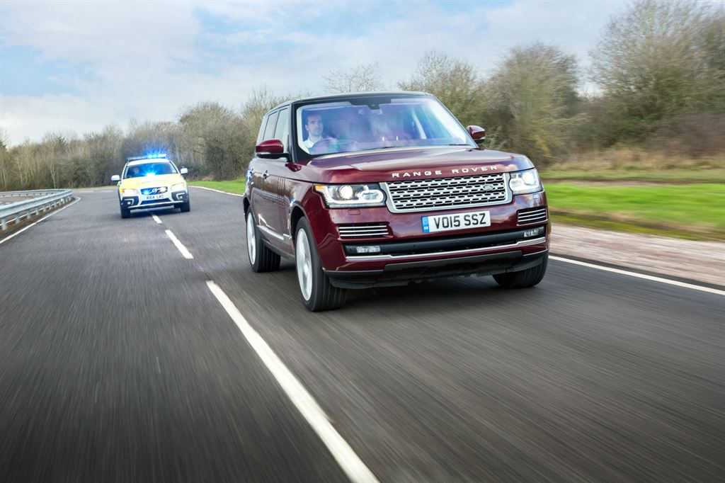 Jaguar Land Rover is collecting data to make autonomous vehicles operate more like human drivers and is testing connected car technology along a 41-mile corridor in the UK.