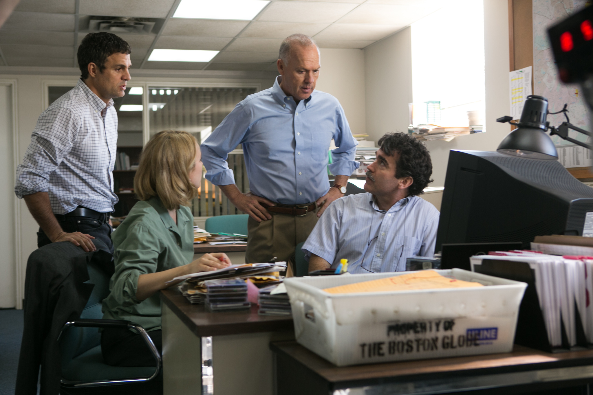 Spotlight, a movie about a newspaper investigation, won the Academy award for Best Picture.