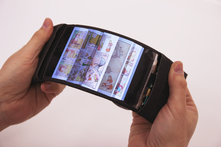ReFlex is a bendable smartphone prototype than runs on Android with an LG OLED touchscreen.