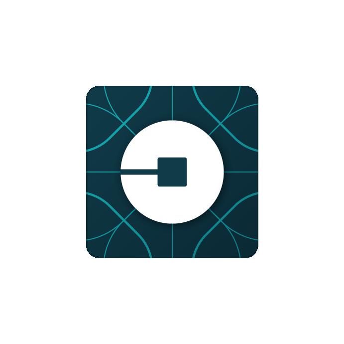 """Uber's new """"bit"""" logo."""