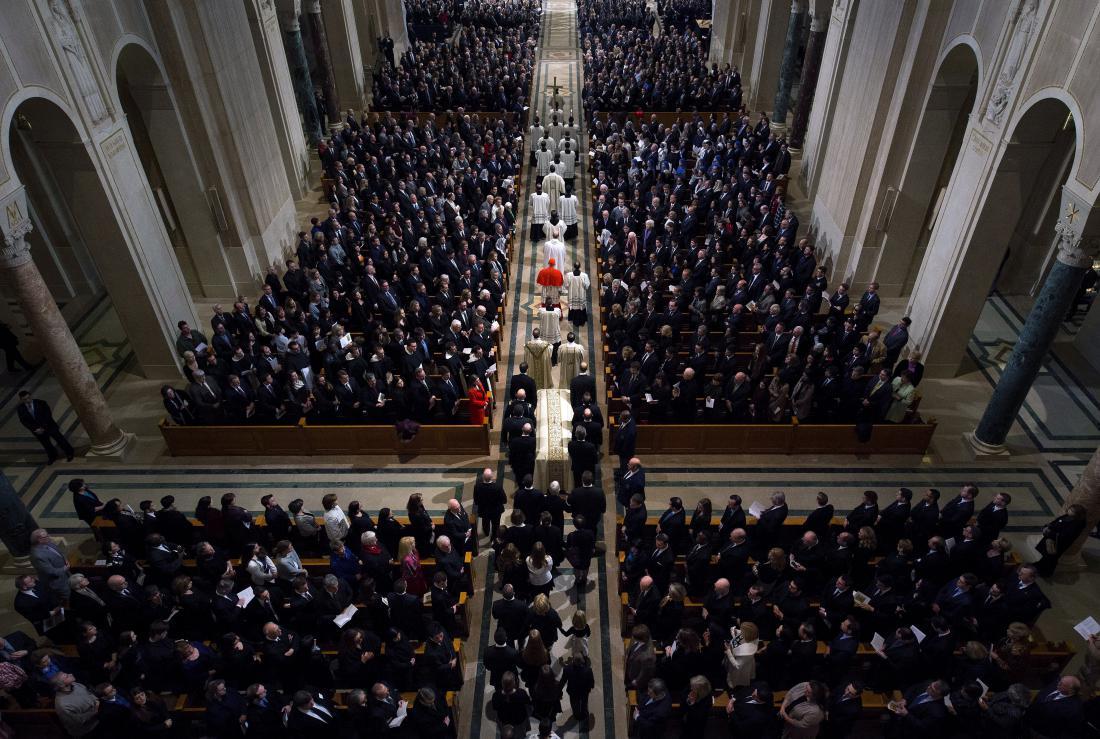 Funeral For Supreme Court Justice Scalia Antonin Scalia Held In Washington, D.C.