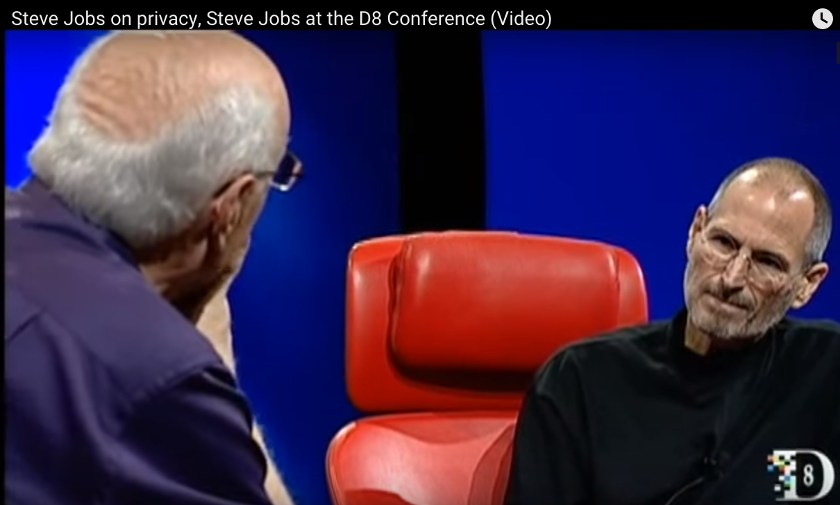 Mossberg and Jobs, June 2010