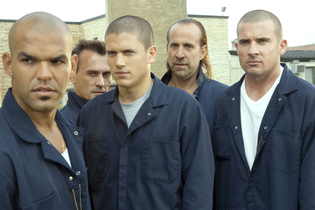 PRISON BREAK, Amaury Nolasco, Robert Knepper, Wentworth Miller, Peter Stormare, Dominic Purcell, 'Tw