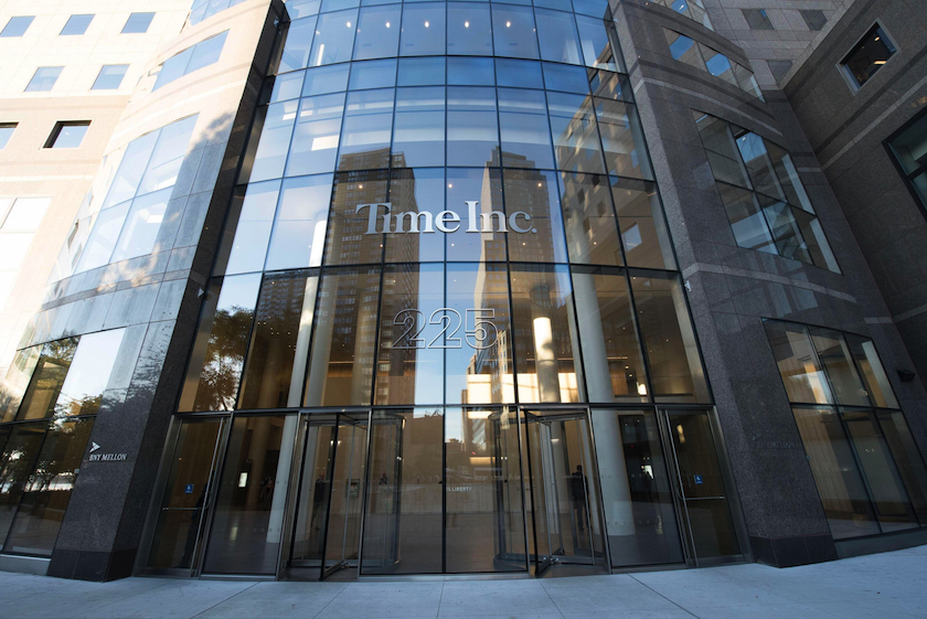 Time Inc. headquarters in New York City