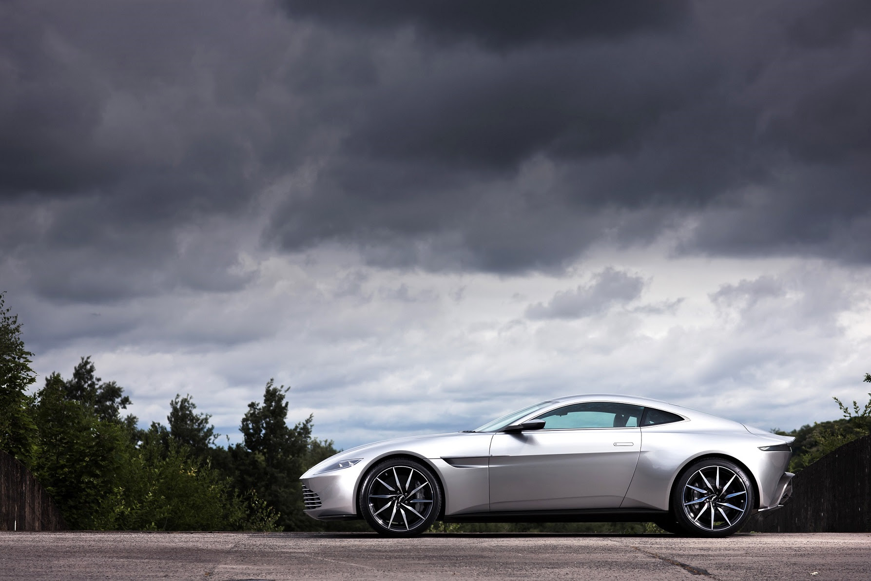 The Aston Martin DB10 made for the James Bond film Spectre sold for $3.5 million at a Christie's auction on Feb. 18, 2016.