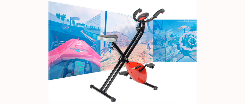 VirZOOM is launching this VZ Controller exercise bike for Sony, Facebook, and HTC virtual reality headsets.