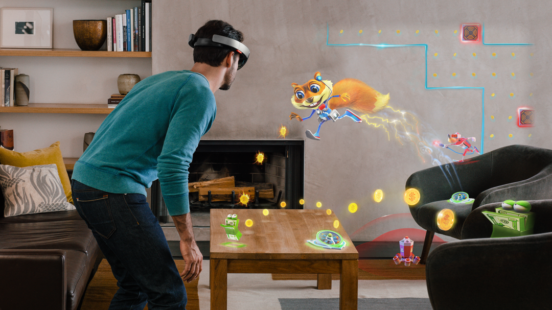 Microsoft HoloLens has applications that could one day go far beyond video games.