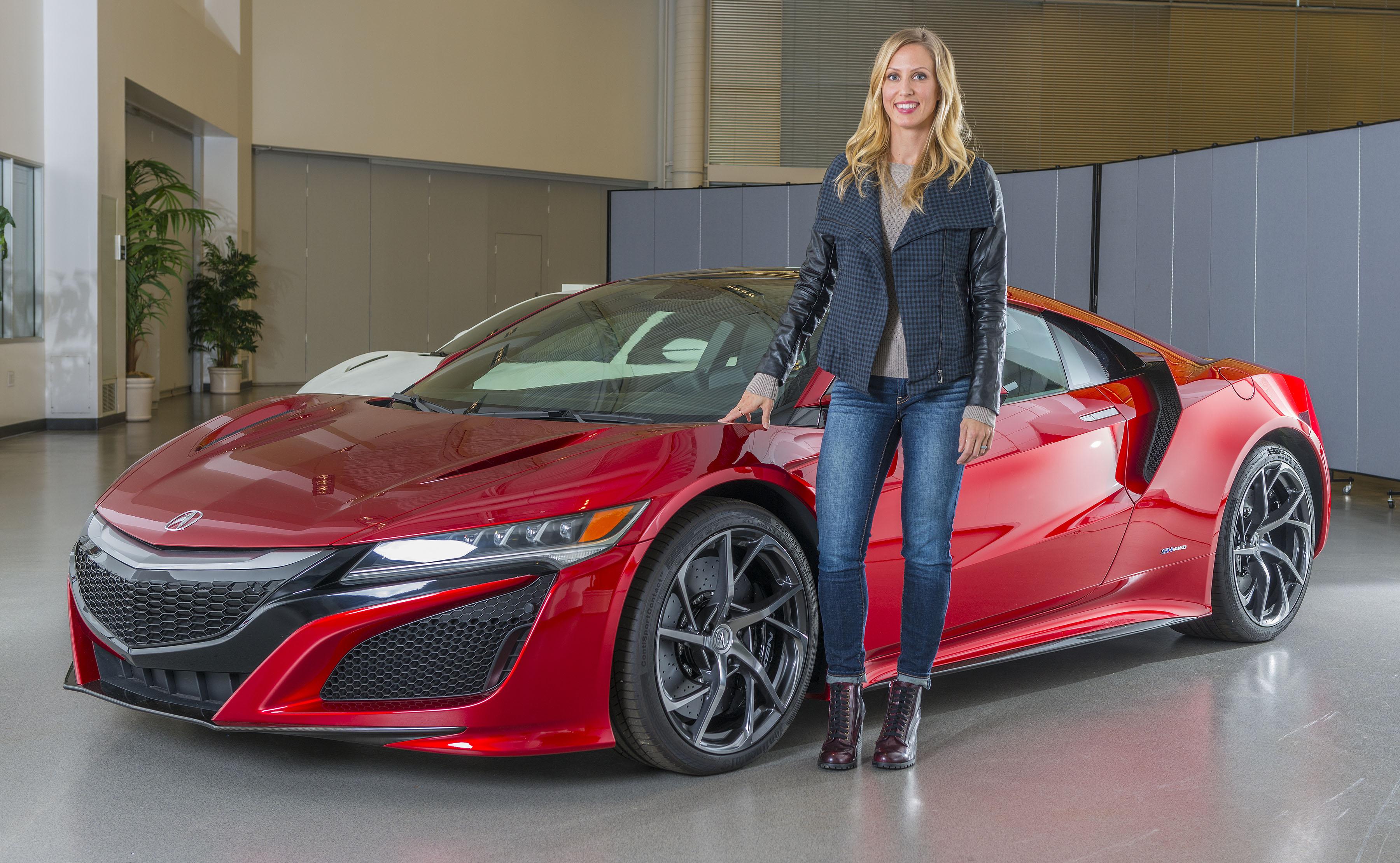 Michelle Christensen, Acura NSX exterior design lead