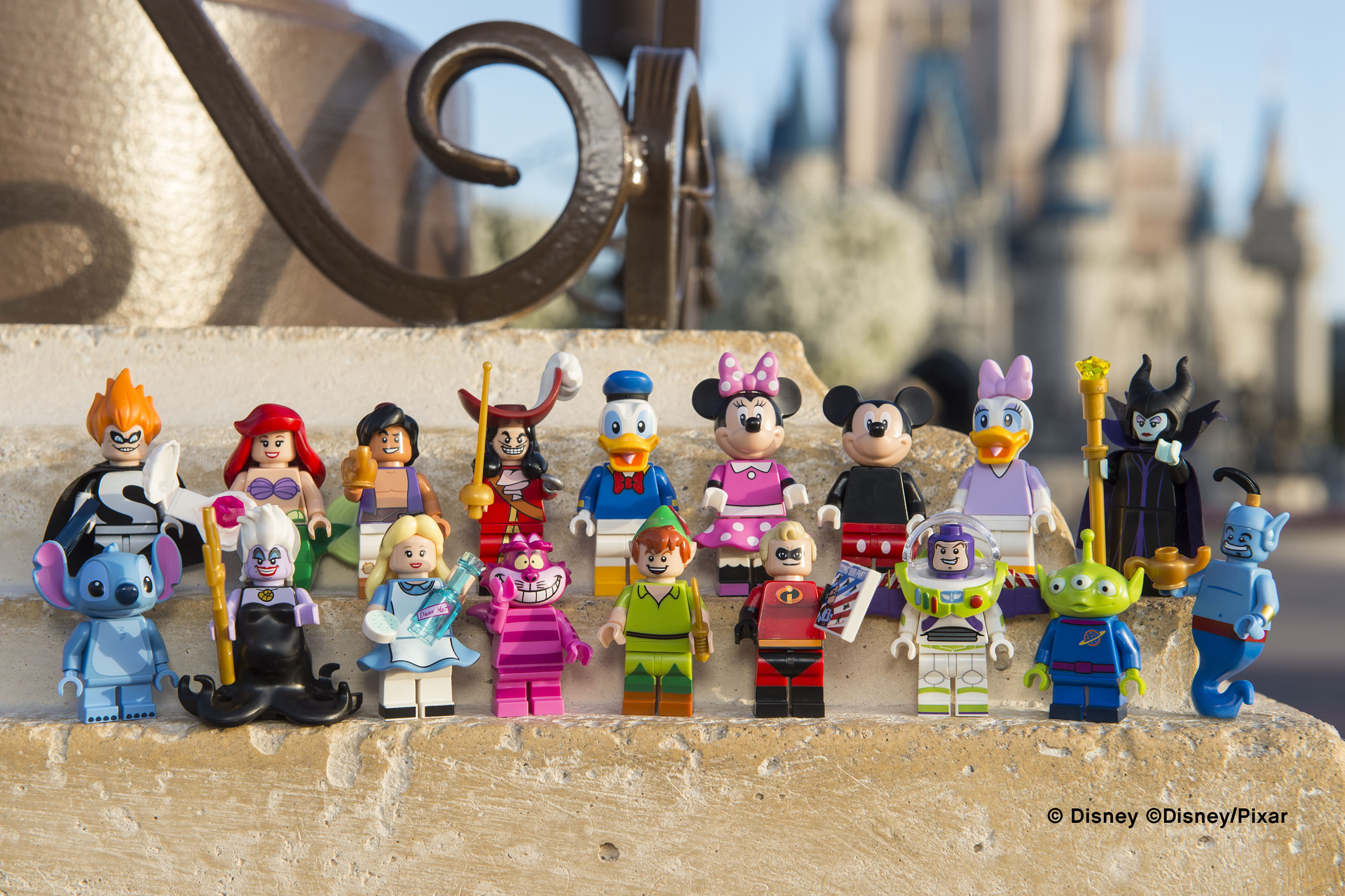 LEGO will start selling Disney Minifigures this spring.