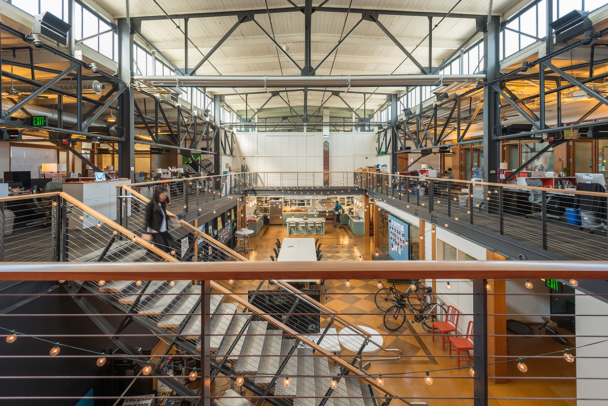 Capital One coolest offices 2016