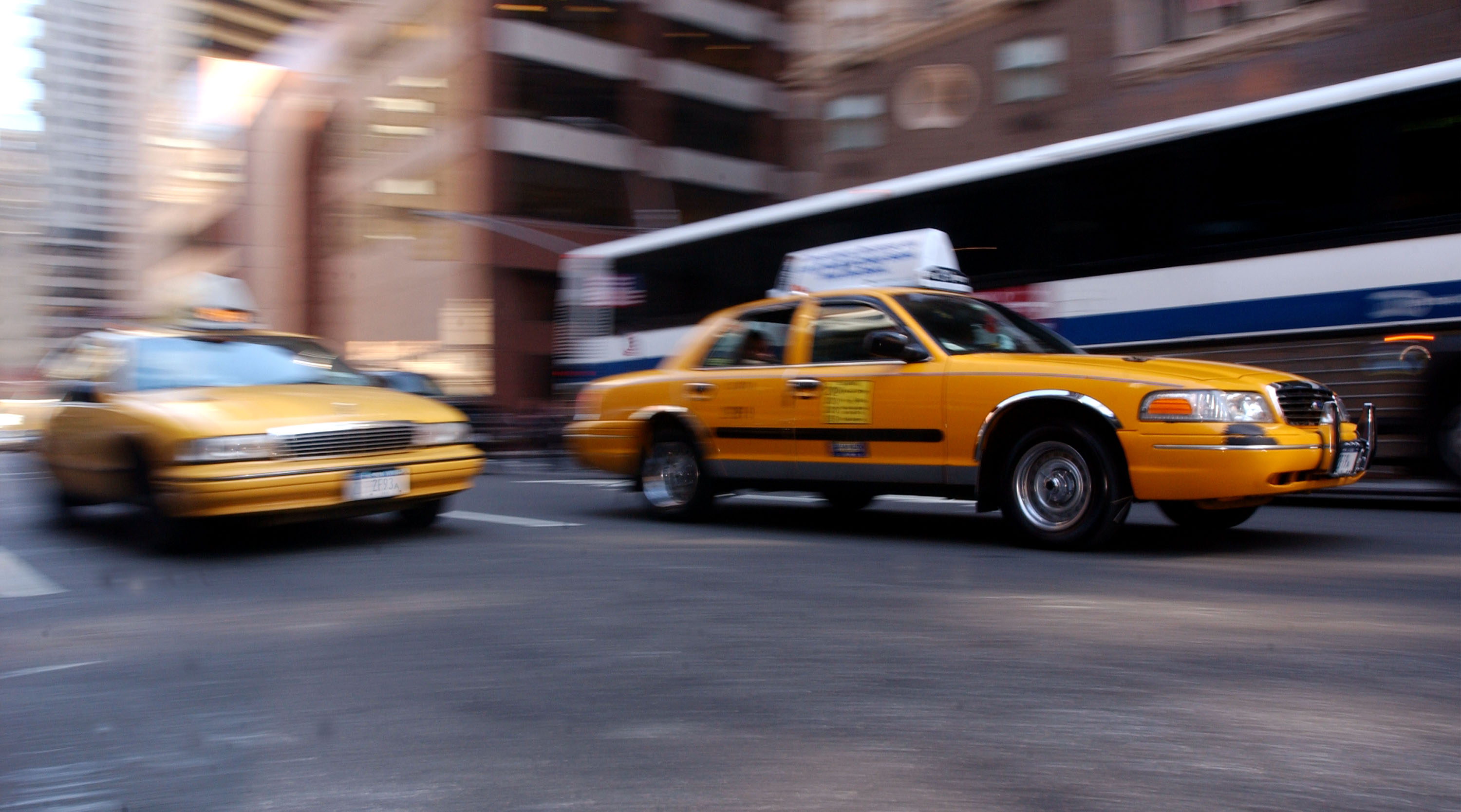 New York Taxi Industry Experiences Slowdown