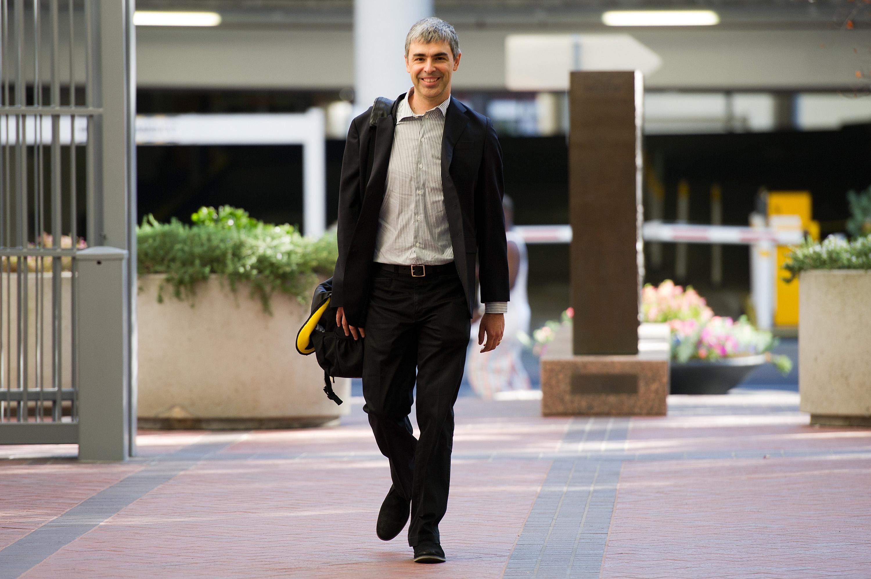 Oracle CEO Larry Ellison & Google CEO Larry Page At Patent Infringement Court Case