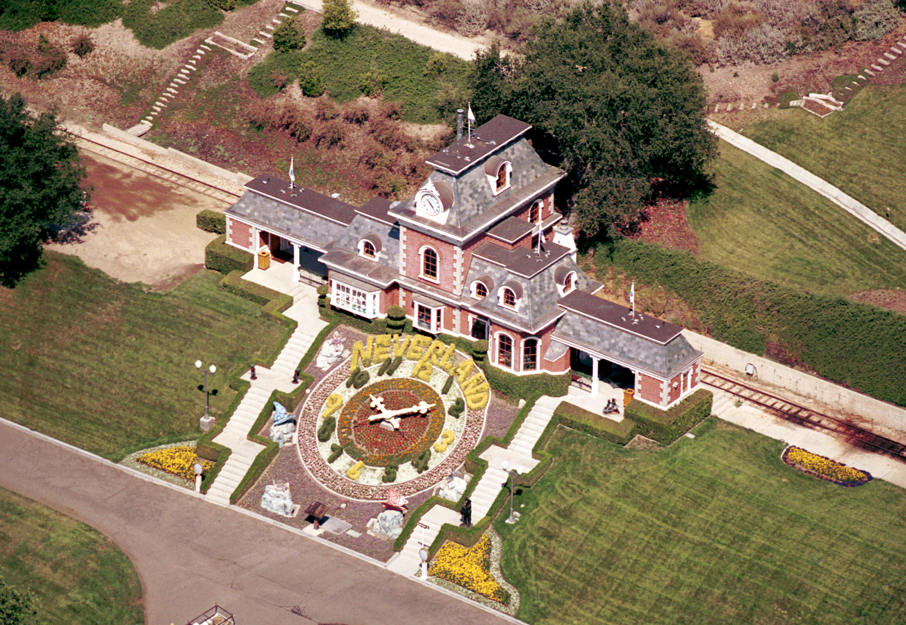 Michael Jackson's Neverland Ranch is shown in this picture.