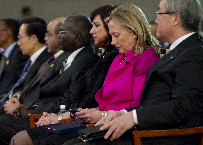 US Secretary of State Hillary Clinton (2