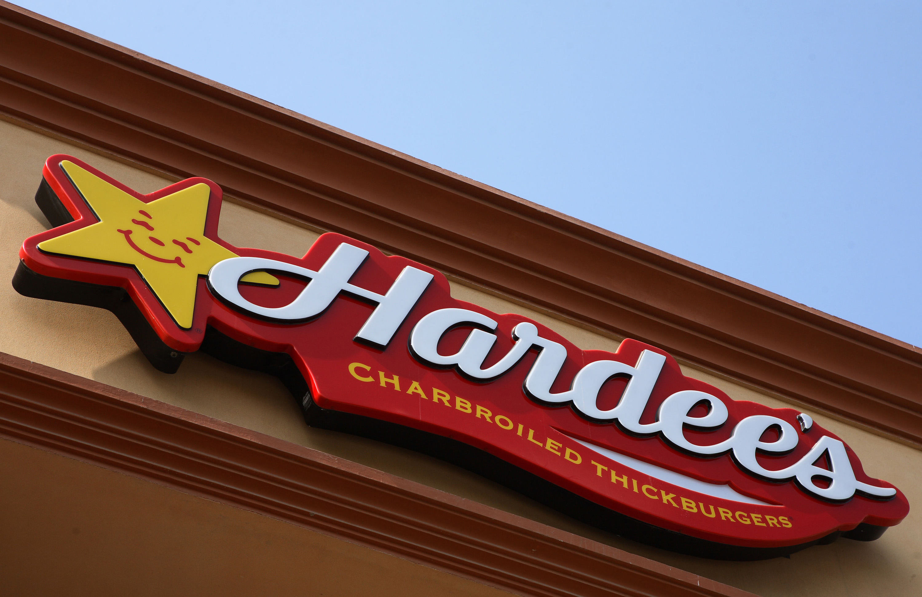 Inside a Hardee's Fast Food Outlet