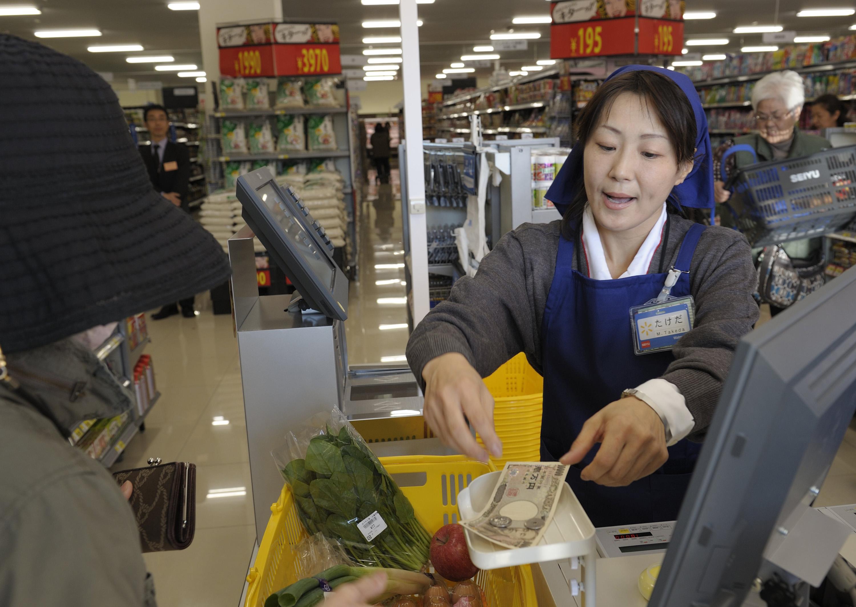 Inside A New Seiyu Supermarket
