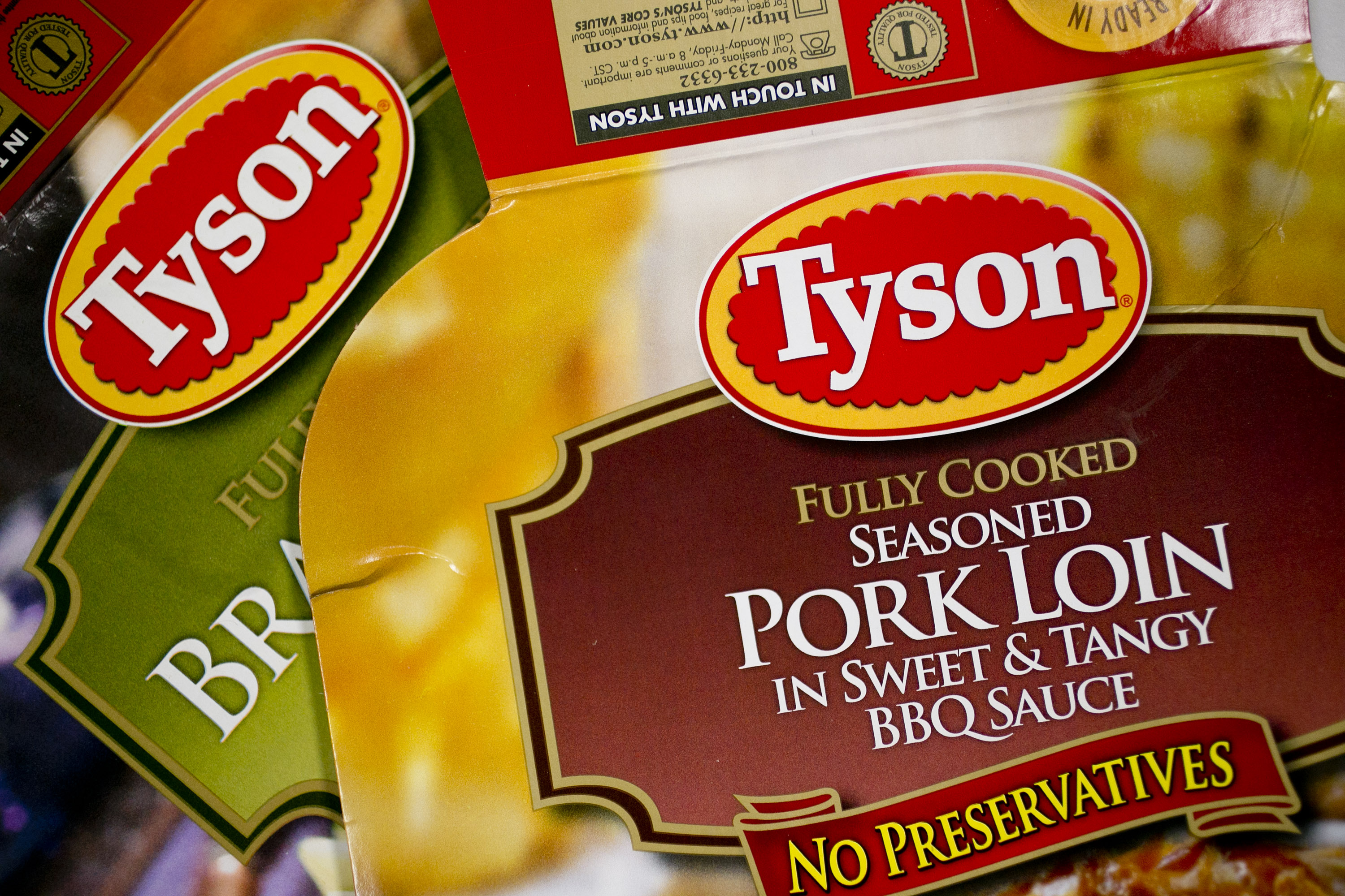 General Views Of Tyson Foods Inc. Products Ahead Of Earns