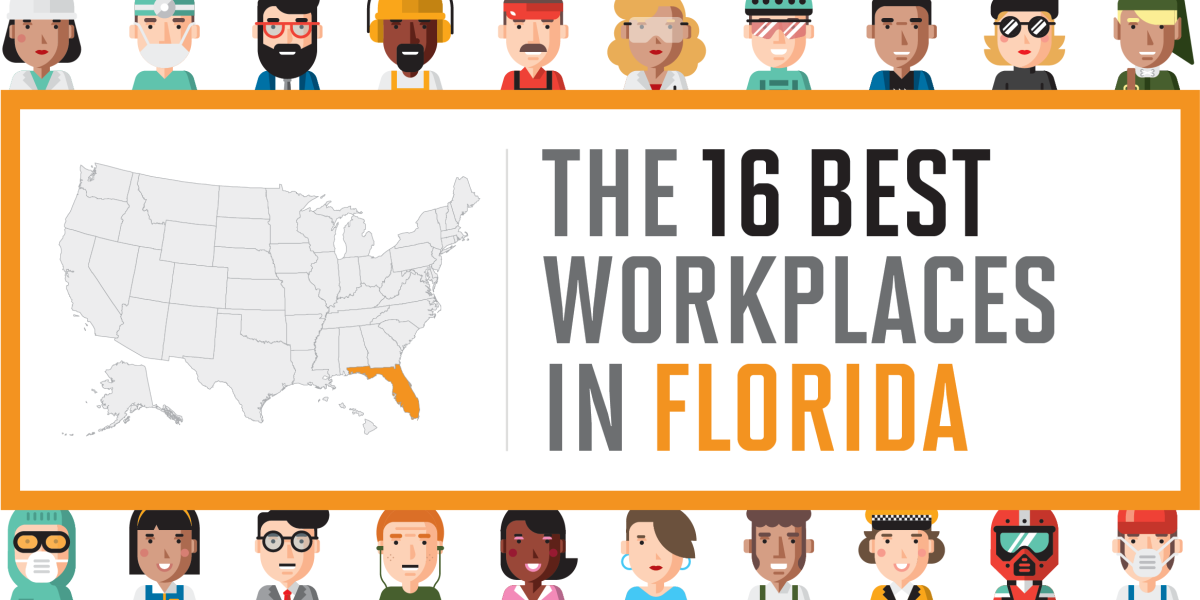 The 16 Best Workplaces in Florida | Fortune