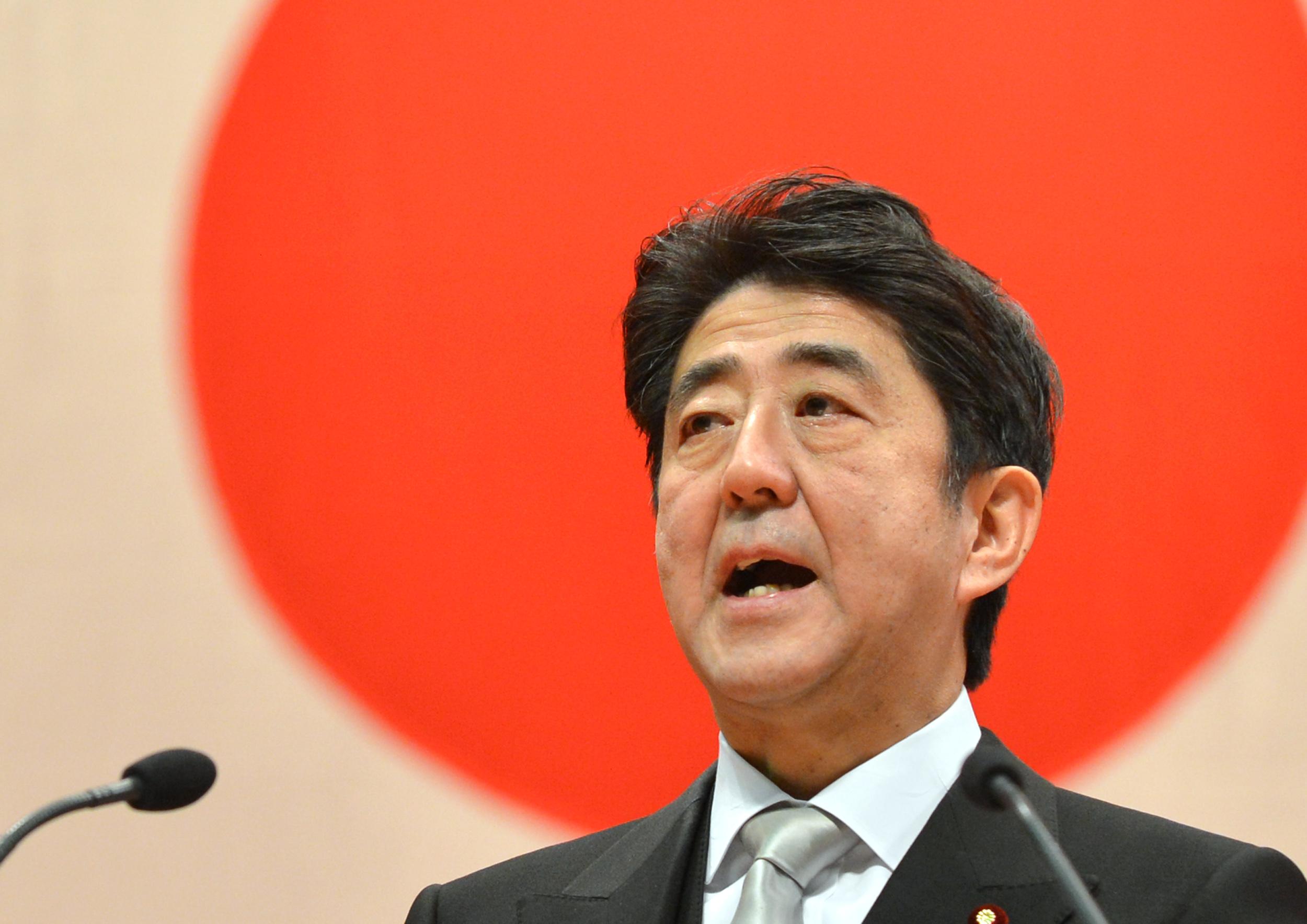JAPAN-CHINA-DIPLOMACY-DISPUTE-ABE-OKINAWA